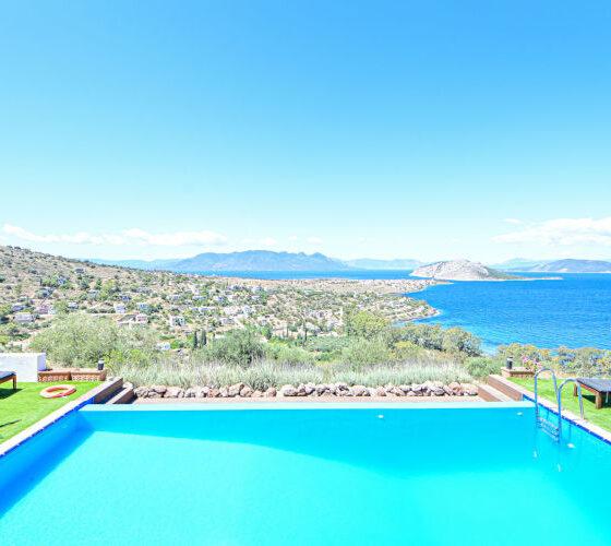 Aegina-Sunset-Villa- Selene -Aegina-by-UpGreat-Hospitality-pool-views