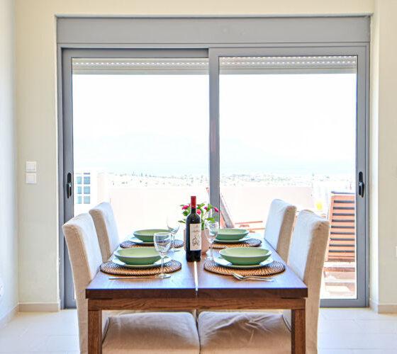 Aegina-Sunset-Villa- Cybele -Aegina-by-Upgreat-Hospitality-dining-table