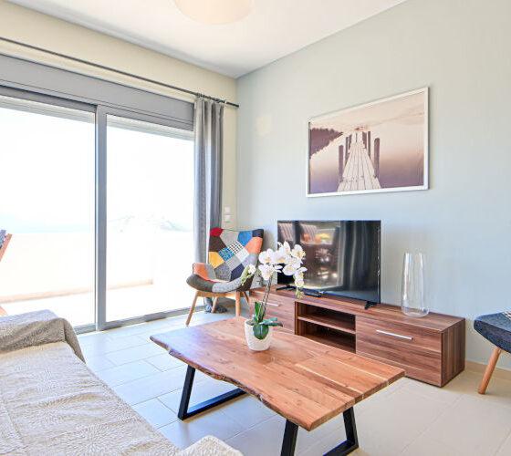 Aegina-Sunset-Villa- Cybele -Aegina-by-Upgreat-Hospitality-living-area