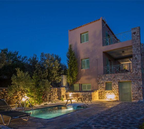 Aegina-Colours-Villa-Carmina-Aegina-by-Upgreat-Hospitality-night-view