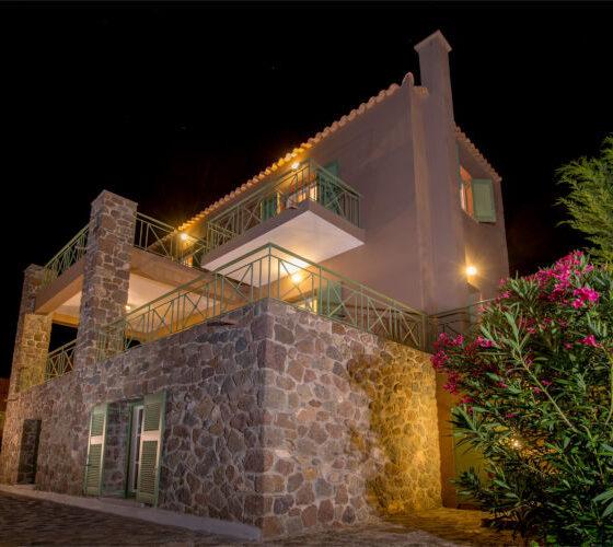 Aegina-Colours-Villa-Carmina-Aegina-by-Upgreat-Hospitality-exterior-night