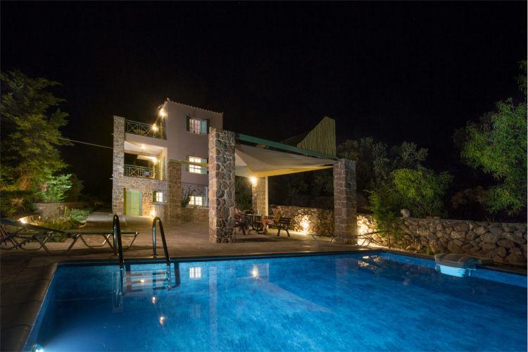 Aegina-Colours-Villa-Cerice-Aegina-by-Upgreat-Hospitality-pool-night